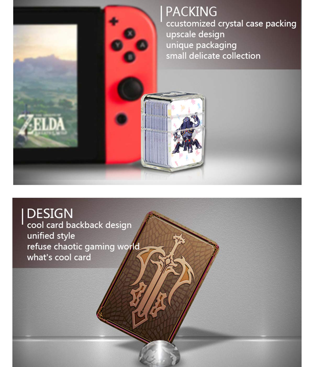 NFC Tag Game Cards for the Legend of Zelda Breath of the Wild ...