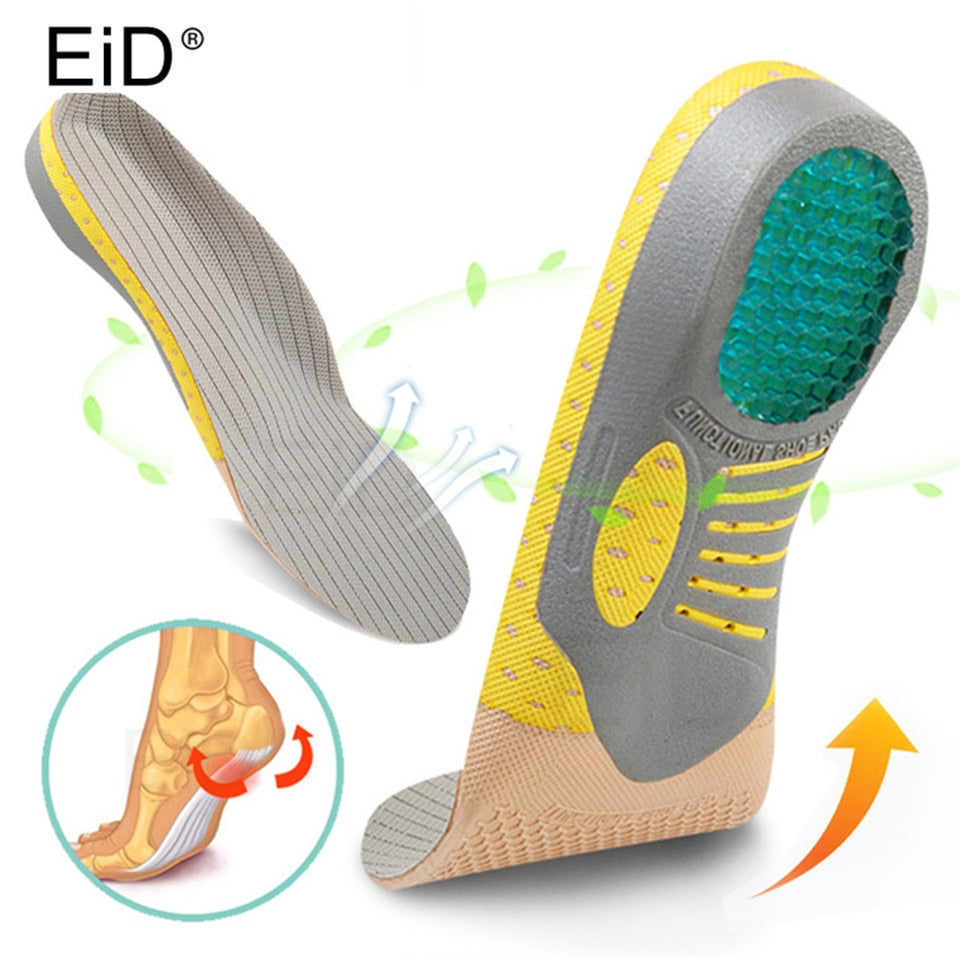 Orthotics Insoles Inserts Pads with Arch Support for Flat Feet Plantar Fasciitis