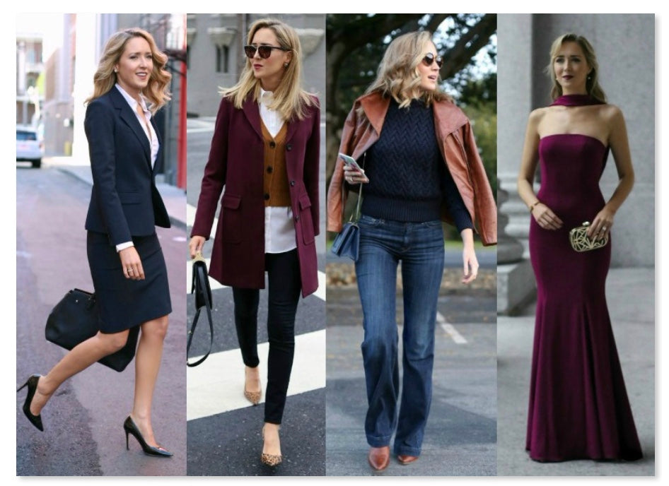 Find your style in 9 steps for women