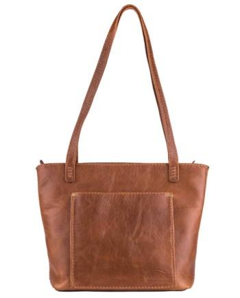 Lilah Ebony Leather Handbag