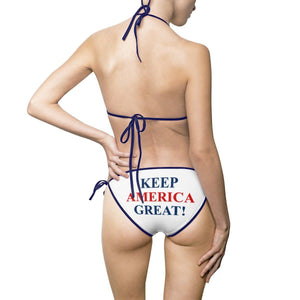Keep America Great! Patriotic Bikini Swimsuit
