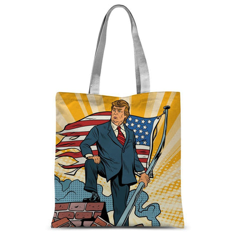 Trump Taking Back America For WE THE PEOPLE Tote Bag