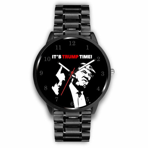 """It's Trump Time"" Stainless steel wrist wristwatch!"
