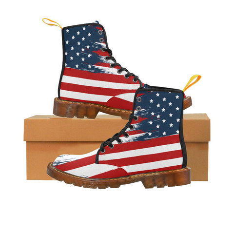 Image of Star Spangled Canvas Boots
