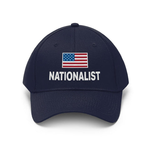 American Nationalist Hat with Flag