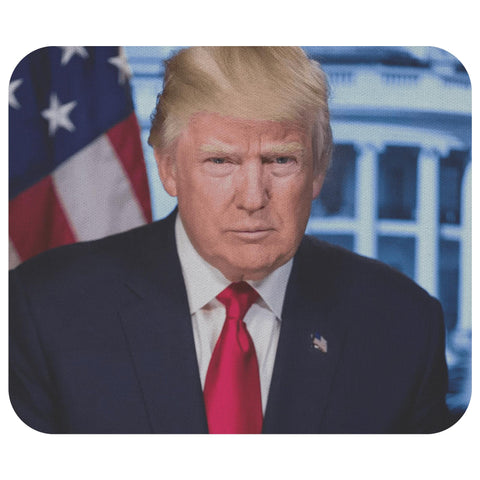 Trump Presidential Portrait Mousepad