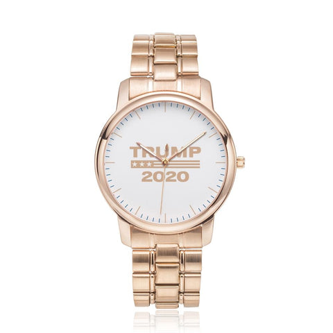 Limited Edition: Premium Trump 2020 Stainless Steel Rose Gold Watch