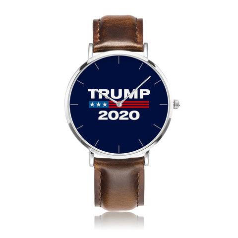 Limited Edition: Trump 2020 Ultra Premium Leather & Stainless Collectors Watch ⭐⭐⭐⭐⭐