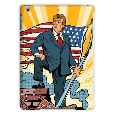 Image of Trump Taking Back America For We The People! Tablet Case