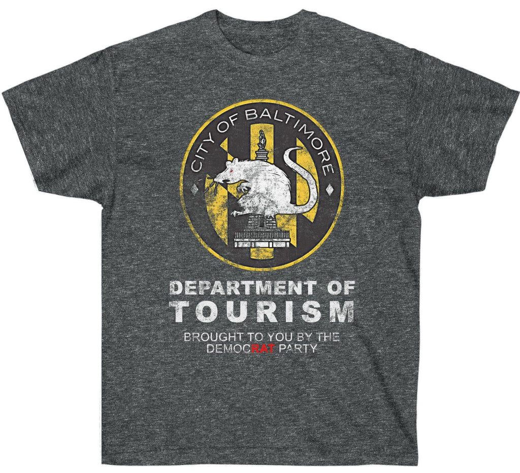 City of Baltimore Department of Tourism Premium Shirt