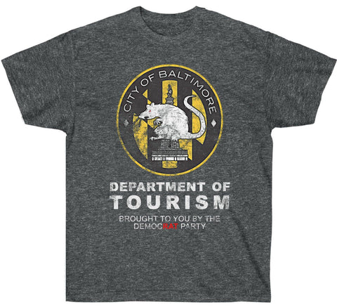 Image of City of Baltimore Department of Tourism Premium Shirt