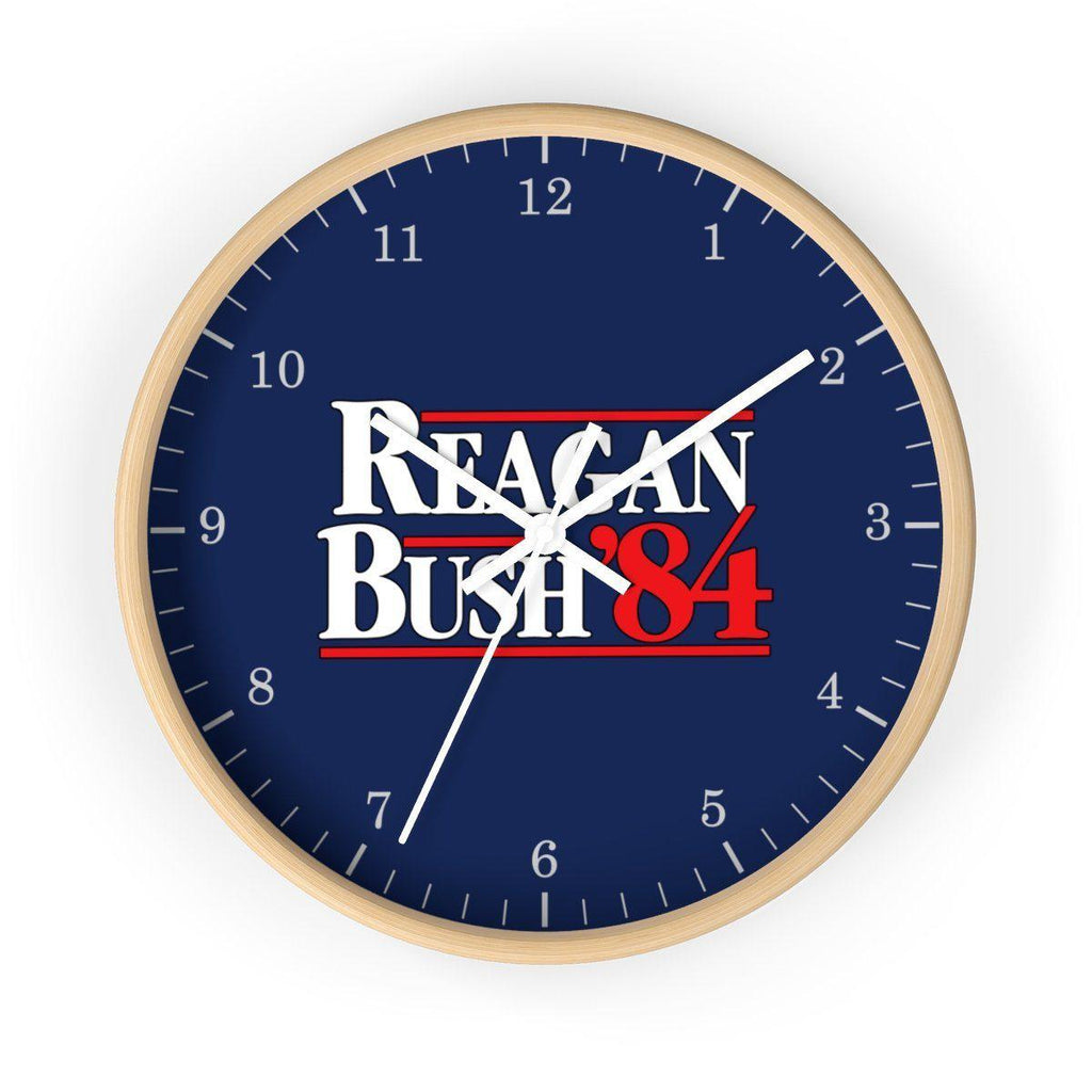 Reagan Bush '84 Wall clock