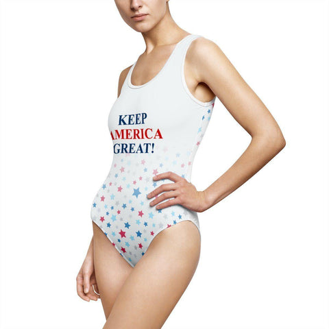 Keep America Great Classic Trump One Piece Swimsuit