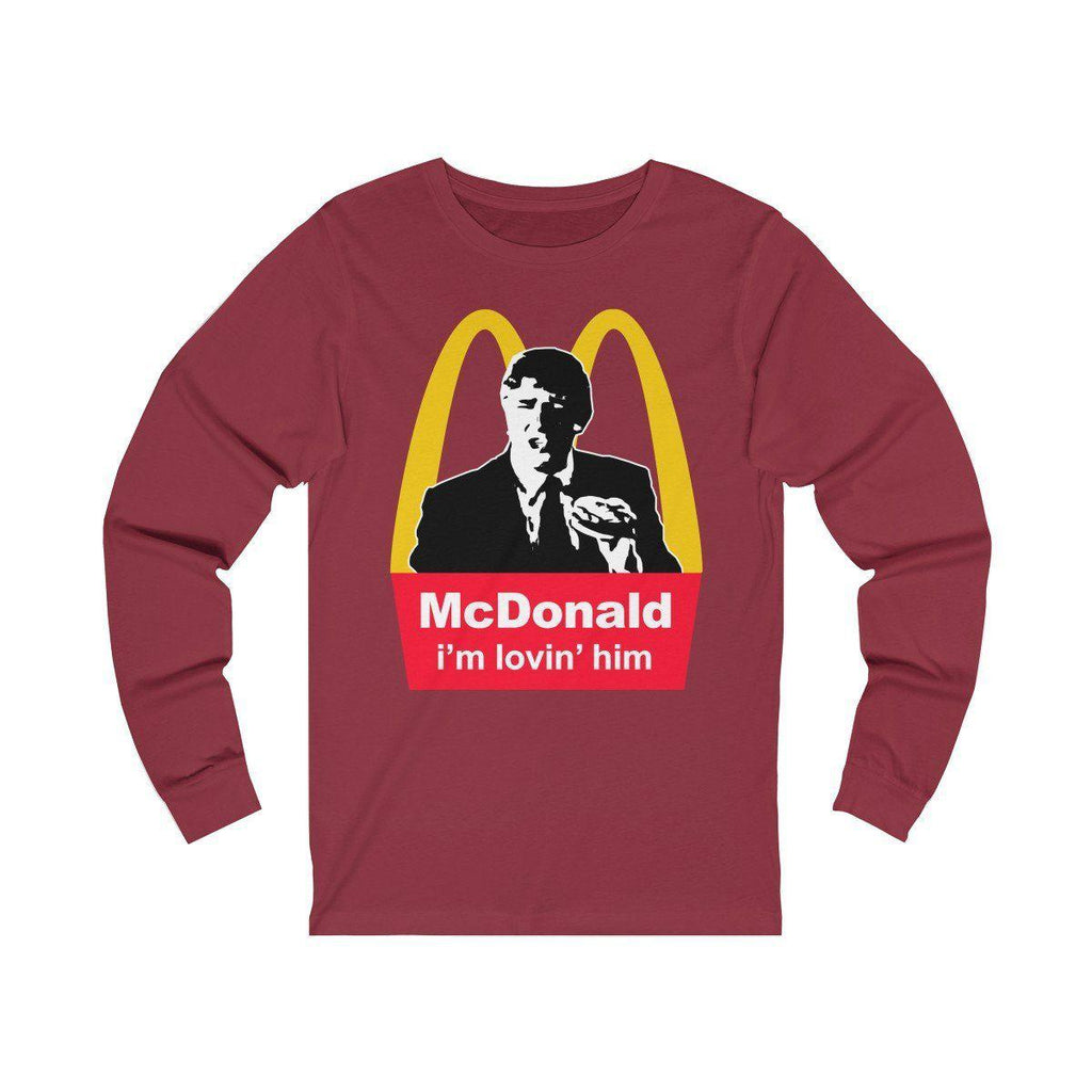 McDonald: i'm lovin' him! Long Sleeve Tee