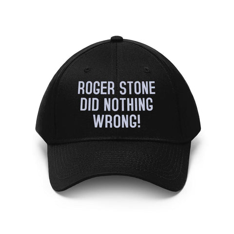 Official Roger Stone Did Nothing Wrong Hat
