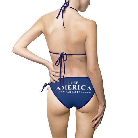 Trump Keep America Great Bikini Swimsuit