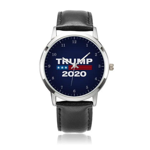 Image of Trump 2020 Watch premium leather