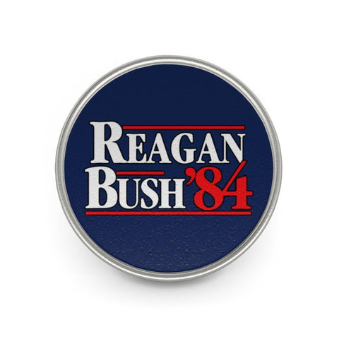 Image of Reagan Bush '84 Metal Pin