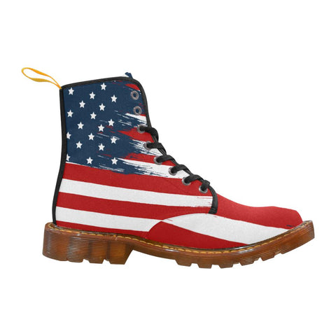 Star Spangled Canvas Boots