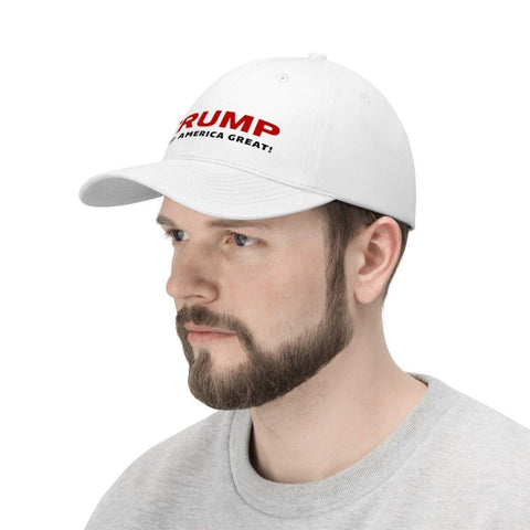 Image of Trump Keep America Great! White Hat