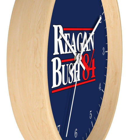Image of Reagan Bush '84 Wall clock