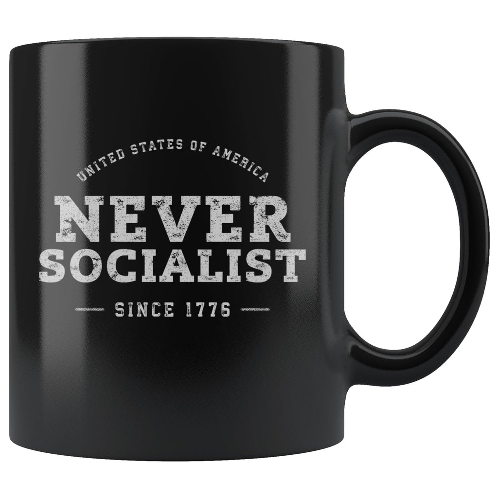 Never Socialist Coffee Mug