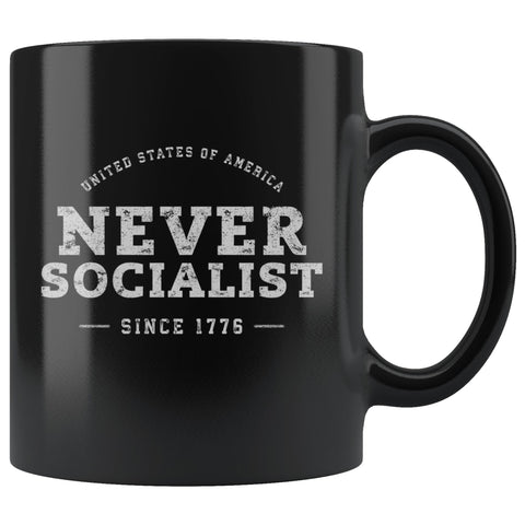 Image of Never Socialist Coffee Mug