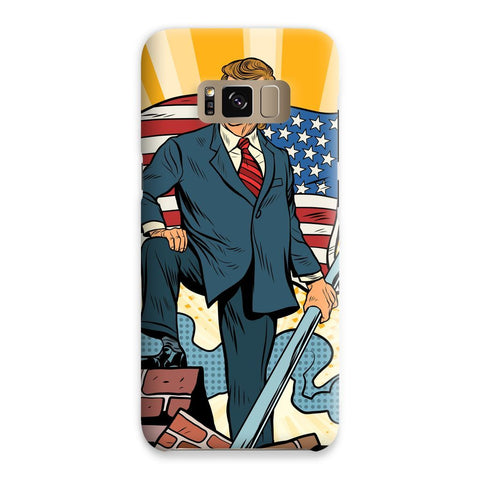 Image of Trump Taking Back America For We The People! Phone Case