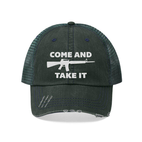 Image of Come and Take It AR-15 Distressed Hat