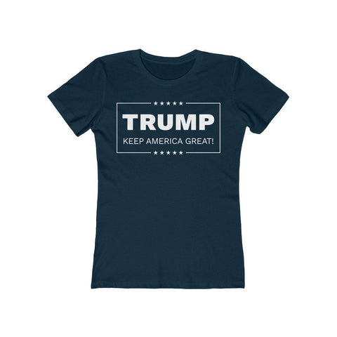 Image of Trump: Keep America Great Women's T-Shirt