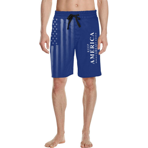 Keep America Great Men's Swimsuit / Casual Shorts