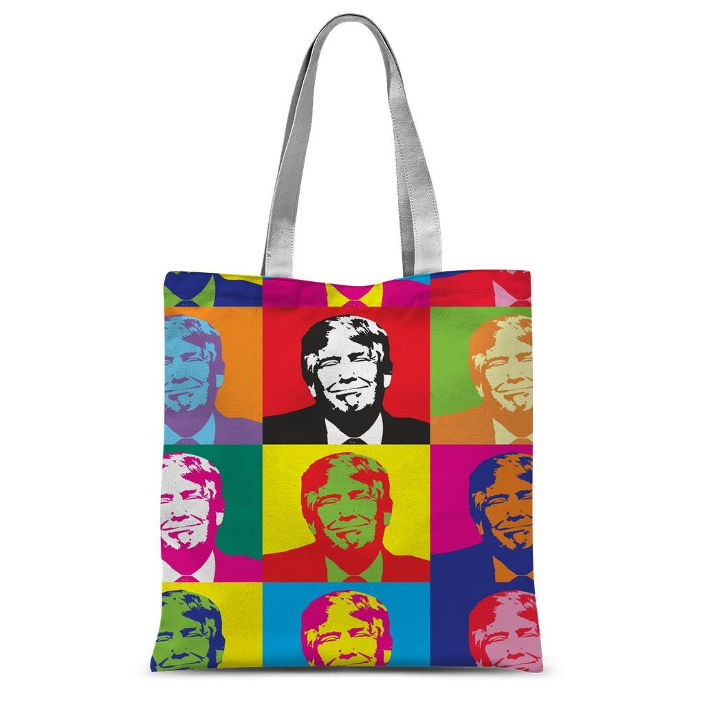 Trump Warhol Collection Tote Bag