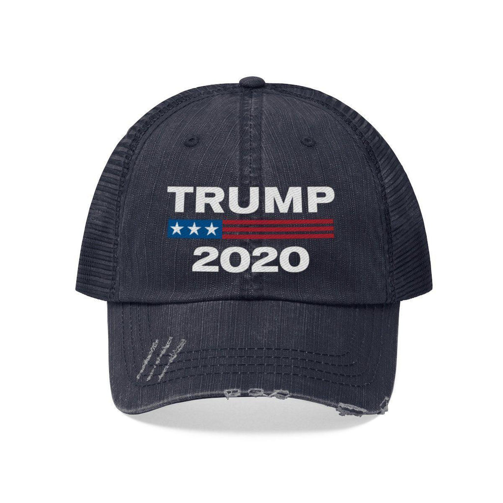 Trump 2020 Worn Look Trucker Hat