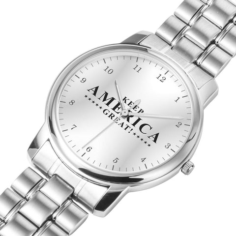 Image of Keep America Great Luxury Stainless Steel Watch