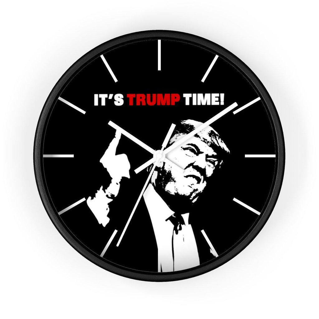 It's Trump Time Wall Clock!