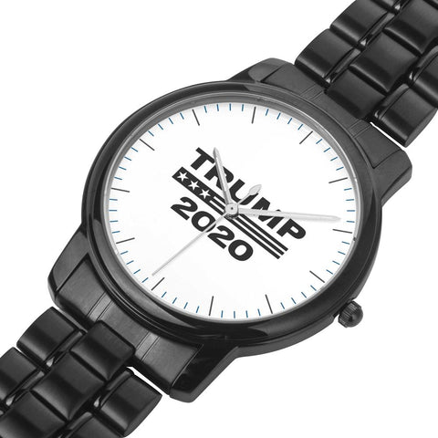 Limited Edition: Premium Trump 2020 Black Stainless Steel Watch