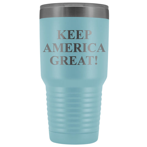 Keep America Great! Etched Stainless Premium Tumbler