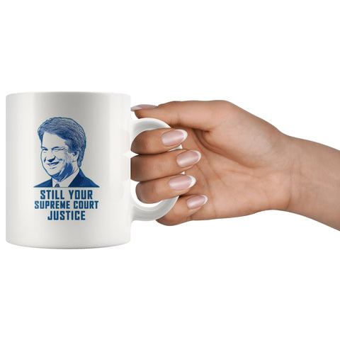 Image of Kavanaugh Winking: Still Your Supreme Court Justice Mug