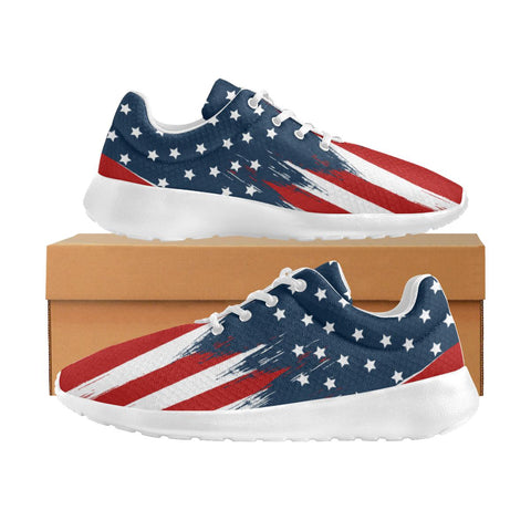 Image of LIMITED: Super Patriot Flag Sneakers