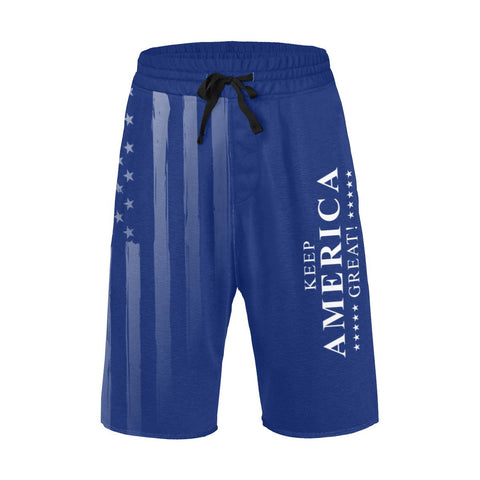 Image of Keep America Great Men's Swimsuit / Casual Shorts