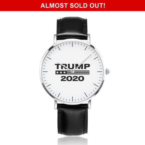 Limited Edition: Ultra Premium Trump Leather Watch
