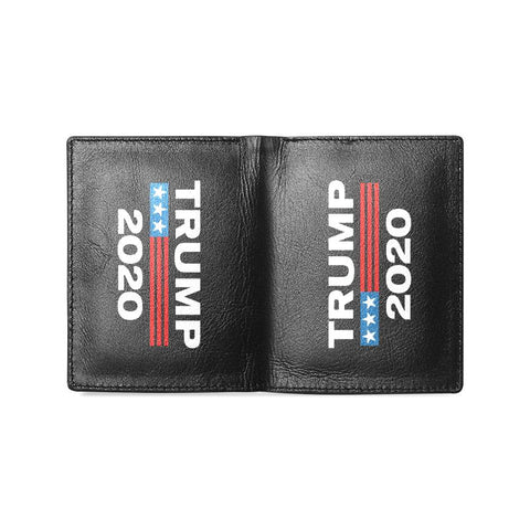 Trump 2020 Microfiber Leather Wallet