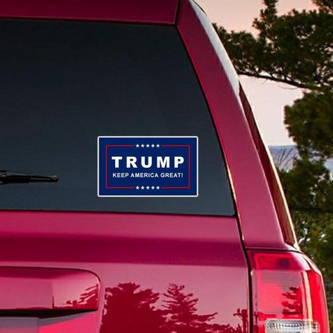 Classic Trump Keep America Great Die Cut Bumper Stickers