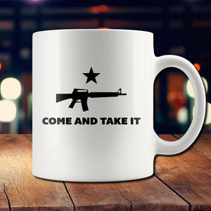 Come and Take It AR-15 Mug