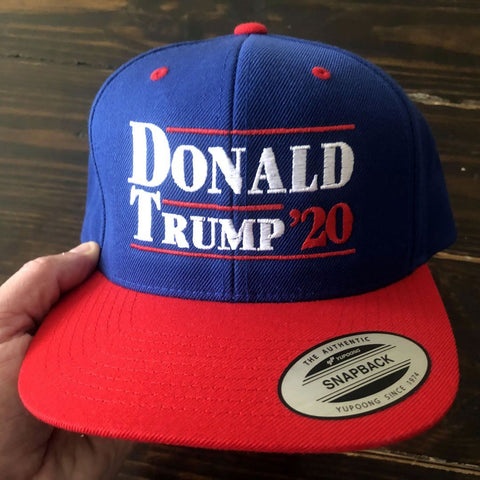 Image of Donald Trump '20 Flat Bill Snapback Hat