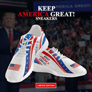 Keep America Great Trump Sneakers
