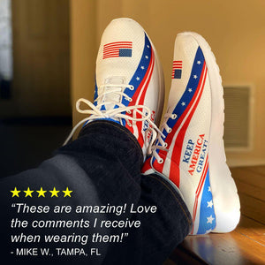 Limited Edition: Keep America Great Sneakers ⭐⭐⭐⭐⭐