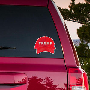 Trump Red Hat Die Cut Bumper Stickers