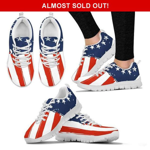 Image of Limited Edition: Betsy Ross American Flag Sneakers