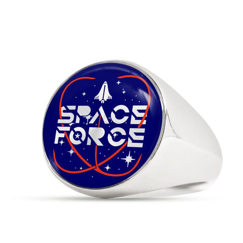 Image of Space Force Commemorative Luxury Ring